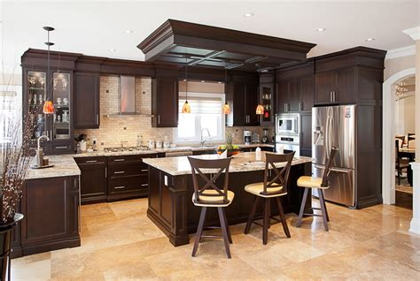giallo ornamental light granite kitchen with cabinetry