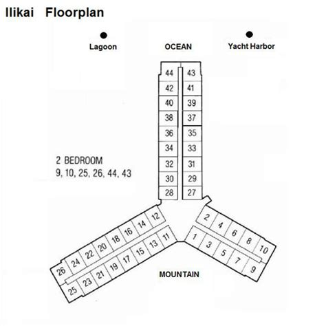 ilikai hotel floor plan hawaiian joy english condominium guide ilikai
