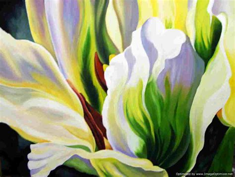 paintings of flowers paintings of flowers