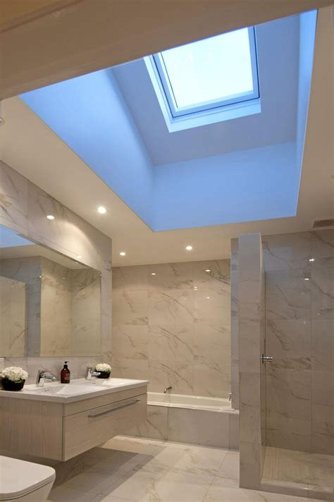 skylight in bathroom skylight in bathroom ensuite bathroom pinterest