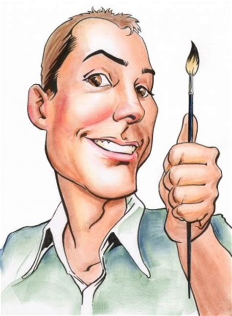best caricature artist the nose caricature artists gift illustration
