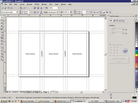 cara membuat layout brosur membuat layout leaflet coreldraw sigithebest s site