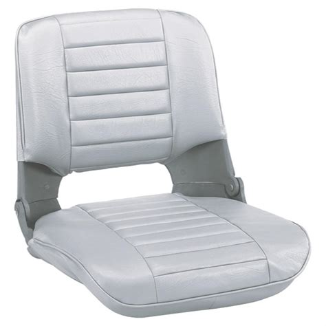 folding fishing boat seat wise 174 pro style folding fishing boat seat 204009 fold