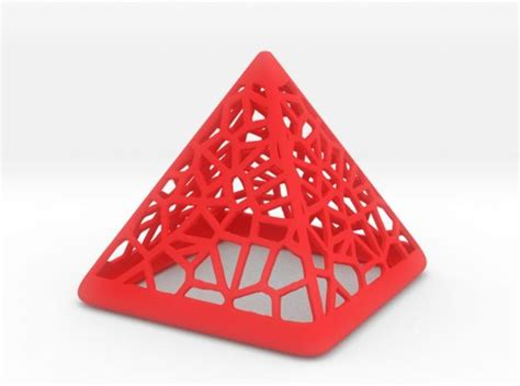 Piramid Printing 3d printed wired pyramid by zbrushingmx pinshape