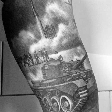 tank tattoo 70 ww2 tattoos for memorial ink design ideas