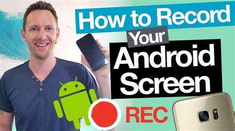 how to record screen on android android screen recording how to record your android screen 2 ways