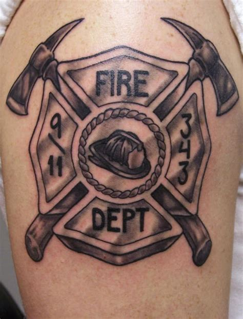 fire dept tattoos firefighter tattoos page 3