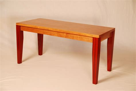 cherry wood bench cherry and bloodwood bench mcnitt bros wood works