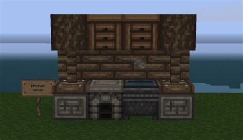 Minecraft Kitchen Blueprints 67 Best Images About Minecraft Furniture On