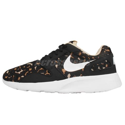 wmns nike kaishi print leopard black brown white womens