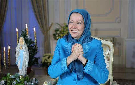 video iranian resistance leader highlights religious persecution  christmastime ground report