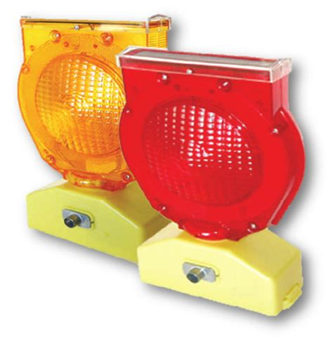 Dual Function Solar Powered Warning Light Forcorp Pty Ltd Solar Powered Warning Lights