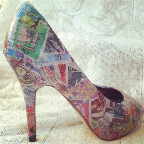 Decoupage On Shoes - 1000 ideas about decoupage shoes on decoupage