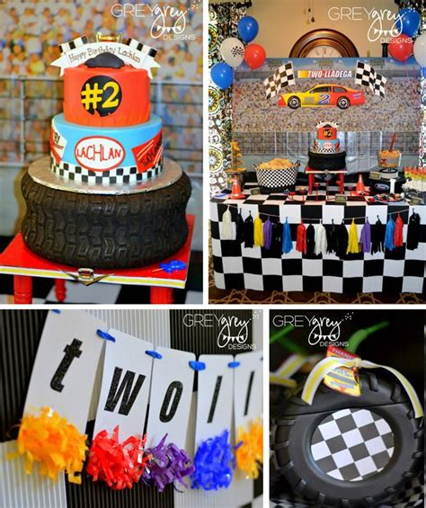 cing themed decorations cars on race car car and