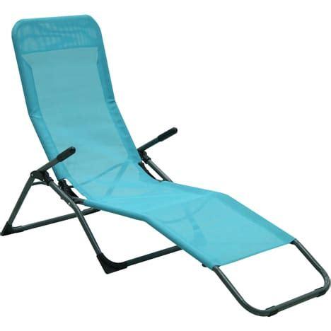 chaise siesta chaise longue siesta pas cher 224 prix auchan