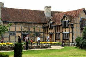 shakespeare s home in stratford upon avon england