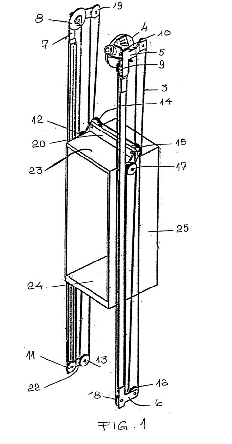 elevator shaft section patent ep1685059b1 method for installing an elevator