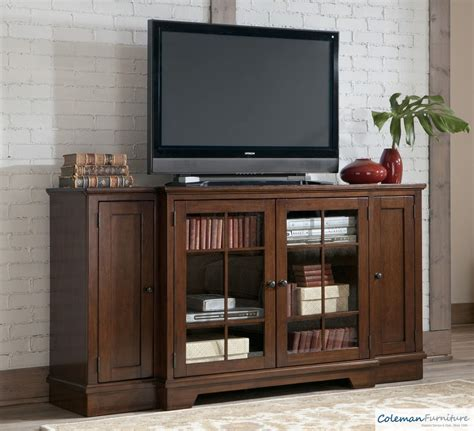 extra large media hodgenville tall extra large tv stand from ashley w684 48