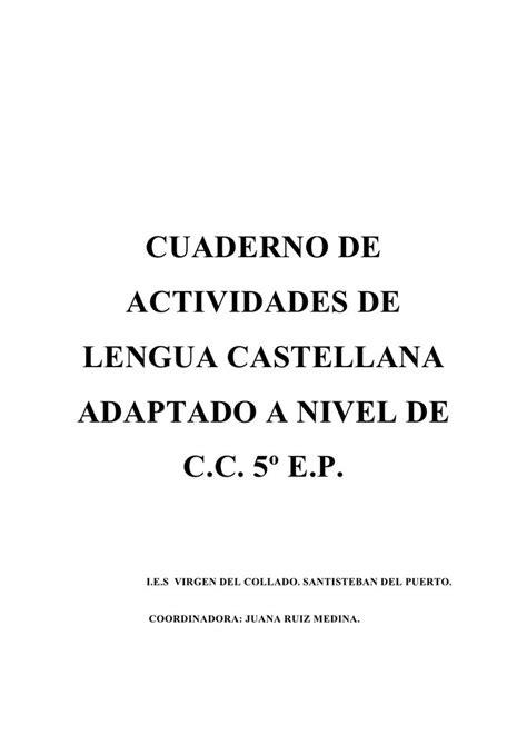 via rapida cuaderno de cuaderno de lengua n c c 5 186 e p by jruimed924 via slideshare lugares para visitar