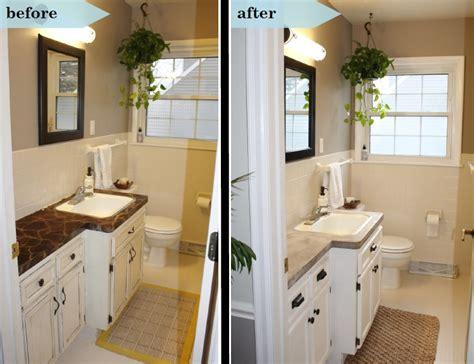 diy bathroom makeover bathroom makeover diy concrete counters simply chic