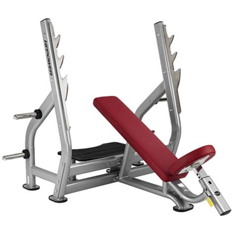tr on a bench banc de musculation bh hipower tr series incline bench l820