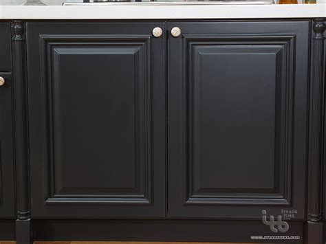 Black Kitchen Cabinet Doors Black Kitchen Black Kitchen Cabinets Kitchen Cabinetry Kitchen Modern Kitchen Cabinetry
