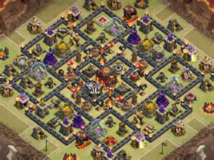 Th10 war base 21 main layout th10 war base 21 wall template layout