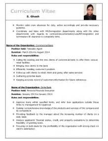 resume format for cabin crew resume of s ghosh