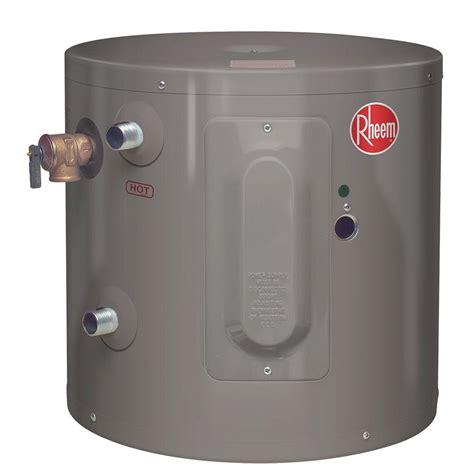 Rheem Performance 6 Gal. 6 Year 2000 Watt Single Element Electric Point Of Use Water Heater