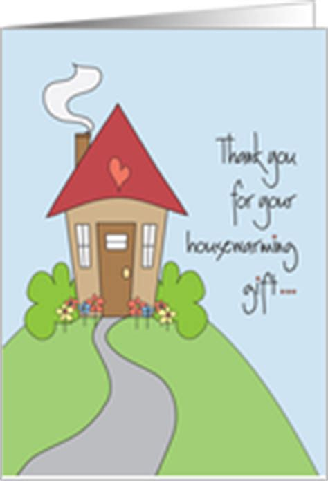 thank you letter housewarming gift thank you cards for the housewarming gift from greeting