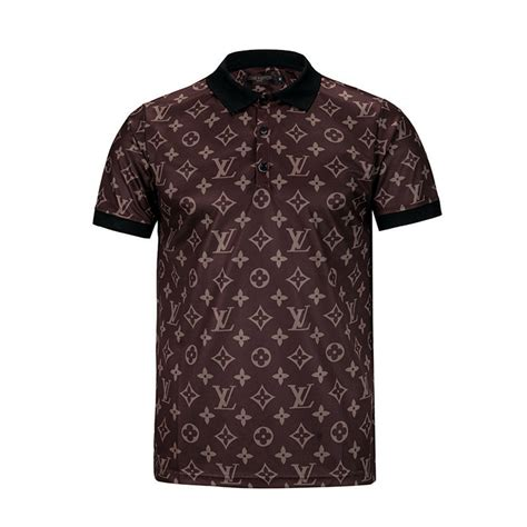 louis vuitton pattern t shirt cheap louis vuitton lv t shirts short sleeved in 266967