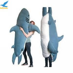 Giant Stuffed Shark Sleeping Bag Fancytrader Huge Giant Shark Sleeping Bag Beanbag Sofa Bed