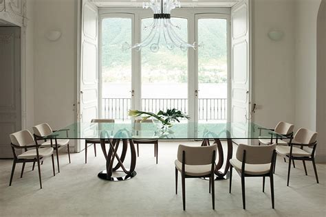 Large Glass Dining Room Table by Dining Room Bright Dining Room With Large Glass Table On