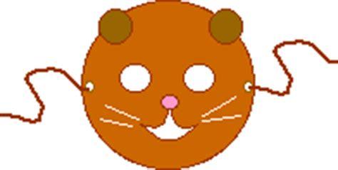 printable groundhog mask paper plate crafts enchantedlearning com