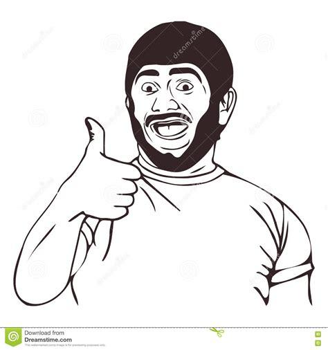 Happy Guy Meme - vector lol happy guy meme face for any design eps 10