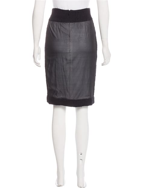 Inset Skirt chanel boucl 233 inset skirt clothing cha162041 the