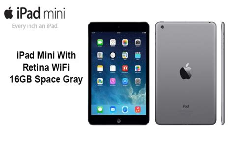 Mini 2 Retina 16 Gb apple mini2 wi fi 16gb space grey retina display brand new factory sealed ebay