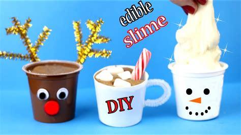 diy edible slime how to make chocolate slime more easy