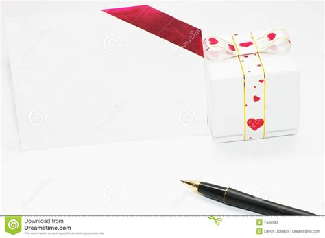 Gift With Letter A Gift And Letter Stock Photos Image 7466583