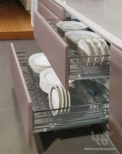 Kitchen Cabinet Dish Rack Contemporary Kitchen Modern Dish Racks Other Metro By Itb Kitchen Wardrobe Manufacturer