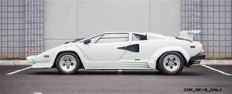 Lamborghini Countach Qv 1988 5 Lamborghini Countach 5000 Qv In Bianco White Is As