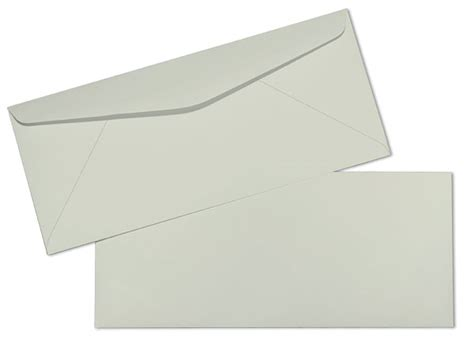 standard window envelope template 10 24lb gray springhill bond regular commercial