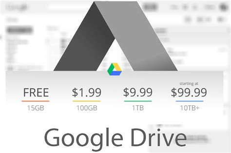 drive google pricing get 1tb storage at google drive for only 9 99 smashing