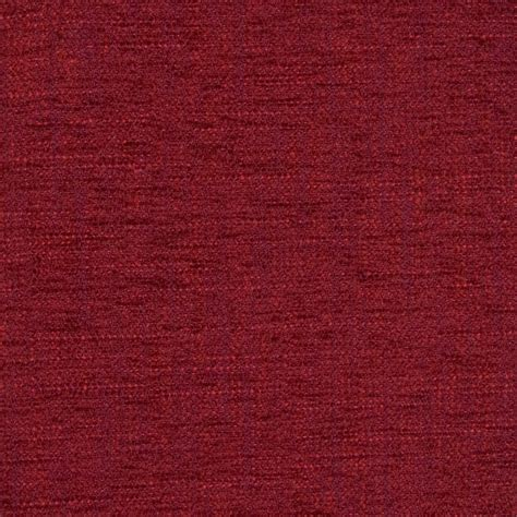 Cranberry Upholstery Fabric by Cranberry Solid Chenille Upholstery Fabric