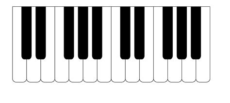 piano keyboard diagram piano keyboard diagram clipart best