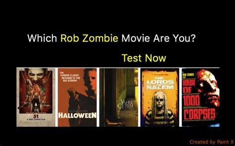 zombie film quiz which rob zombie movie are you quiz for fans