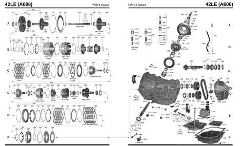 transmission parts diagram 42rle transmission parts diagram get free image about