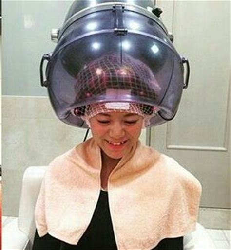 his hair under the dryer nice dryer time for the dryer pinterest nice the o