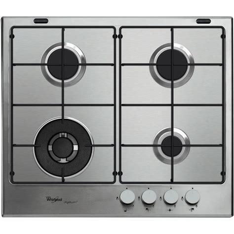 piano cottura whirlpool prezzi piano cottura a gas whirlpool 4 fuochi gma 6421 ixl