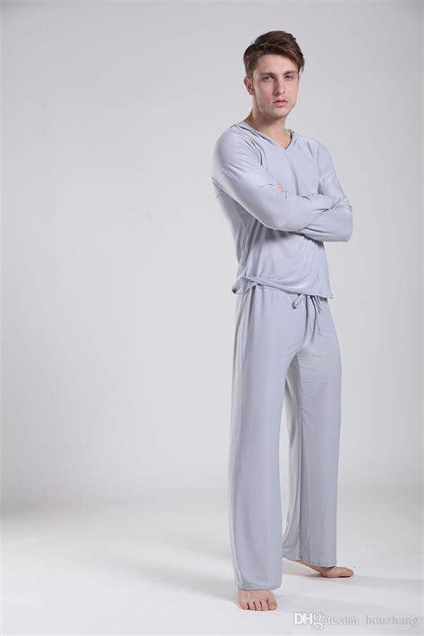 Comfortable Mens Pajamas by 2017 Guality Pajamas Soft Comfortable Pijama